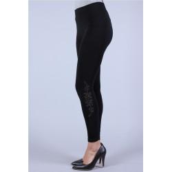 Leggings motif strass...