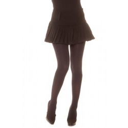 Jupe plissé noir.