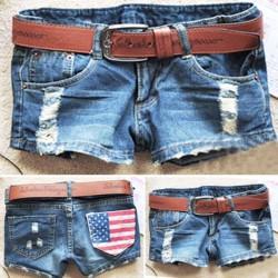 Short en jean USA